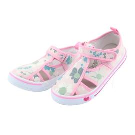 American Club Američke cipele za djecu s velcro inlay kožom 3