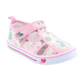American Club Američke cipele za djecu s velcro inlay kožom 1