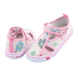 American Club Američke cipele za djecu s velcro inlay kožom 4