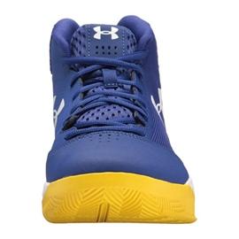 Under Armour Košarkaške cipele Under Armor Jet Mid M 3020224-500 plava plava 1