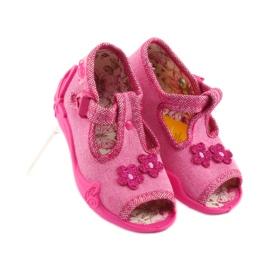 Papuče Befado 213P109 ružičaste roze 4