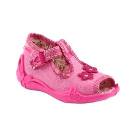Papuče Befado 213P109 ružičaste roze 1