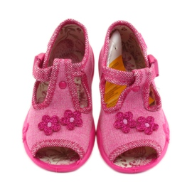 Papuče Befado 213P109 ružičaste roze 3