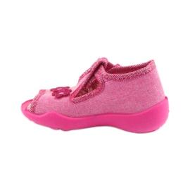 Papuče Befado 213P109 ružičaste roze 2