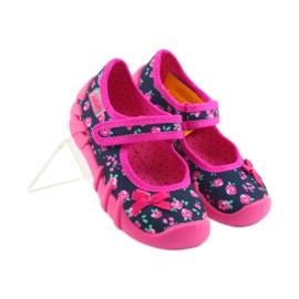 Dječje papuče Befado 109p181 ružičaste 4