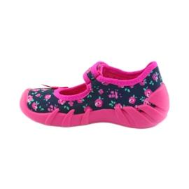 Dječje papuče Befado 109p181 ružičaste 2
