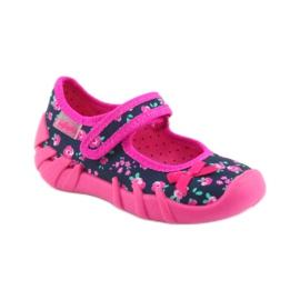 Dječje papuče Befado 109p181 ružičaste 1