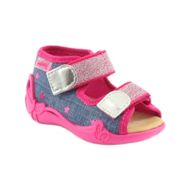 Papuče Befado sandale od kože 1