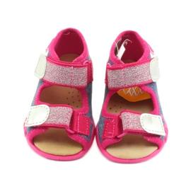 Papuče Befado sandale od kože 3