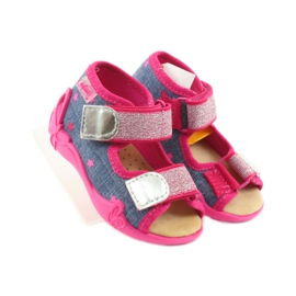 Papuče Befado sandale od kože 4