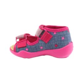 Papuče Befado sandale od kože 2