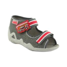 Dječačke nap cipele Befado 250P089 sive 1