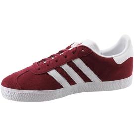 Crvene cipele Adidas Gazelle Jr CQ2874 1