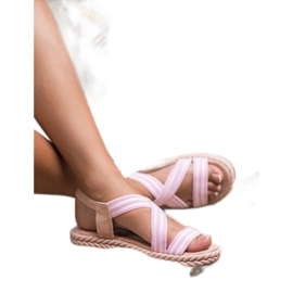 Seastar Udobne ženske sandale roze 1