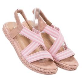 Seastar Udobne ženske sandale roze 2