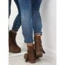 Smeđe ženske cipele 4169 Khaki slika 4