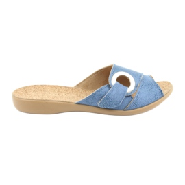 Befado ženske cipele pu 265D015 plava 1