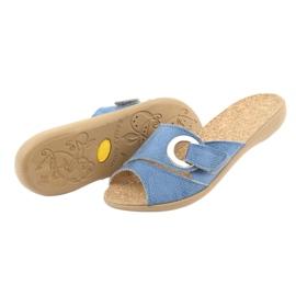 Befado ženske cipele pu 265D015 plava 5