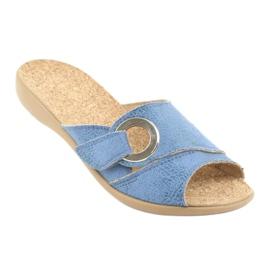 Befado ženske cipele pu 265D015 plava 2
