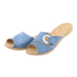 Befado ženske cipele pu 265D015 plava 4