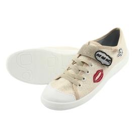 Dječje cipele Befado 251Q098 bež zlatna 6