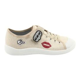Dječje cipele Befado 251Q098 bež zlatna 2