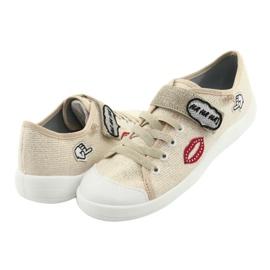 Dječje cipele Befado 251Q098 bež zlatna 5