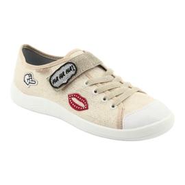 Dječje cipele Befado 251Q098 bež zlatna 3