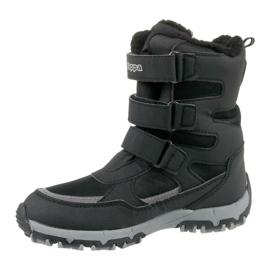Kappa Great Tex Jr 260558K-1115 zimske čizme crna 1