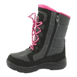 American Club Čizme za snijeg s američkim klubom SN13 membrane sive 2