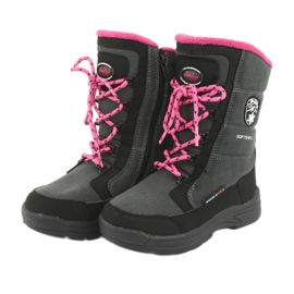 American Club Čizme za snijeg s američkim klubom SN13 membrane sive 3