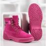 Yes Mile Zapletene modne čizme roze 4