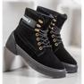 Yes Mile Zapletene modne čizme crna 4
