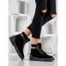 Yes Mile Zapletene modne čizme crna 6