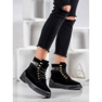 Yes Mile Zapletene modne čizme crna 1