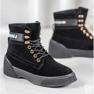 Yes Mile Zapletene modne čizme crna 2