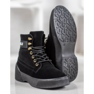 Yes Mile Zapletene modne čizme crna 5