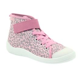 Dječje cipele Befado 268X057 ružičasta siva 3
