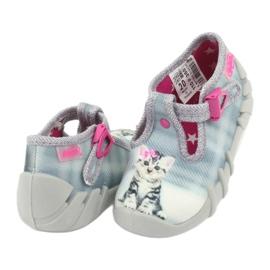Dječje cipele Befado kitty 110P365 siva 3