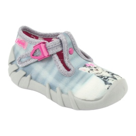 Dječje cipele Befado kitty 110P365 siva 1