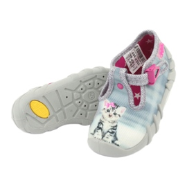 Dječje cipele Befado kitty 110P365 siva 4