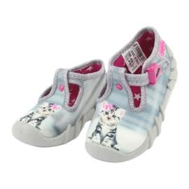 Dječje cipele Befado kitty 110P365 siva 2