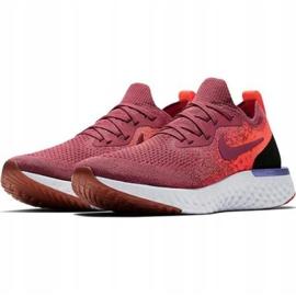 Cipele za trčanje Nike Epic React Flyknit W AQ0070 601 crvena 1
