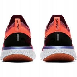 Cipele za trčanje Nike Epic React Flyknit W AQ0070 601 crvena 2