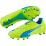 Nogometne cipele Puma Evo Speed 1.4 Lth Fg M 103615 03 žuti žuti 1