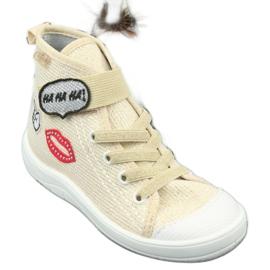 Dječje cipele Befado 268X069 smeđa siva 3