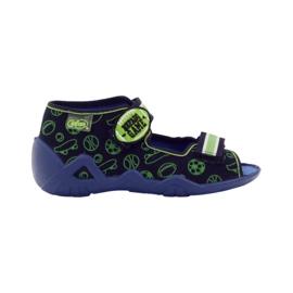 Befado zelena dječja obuća 250P070 mornarsko plava 6