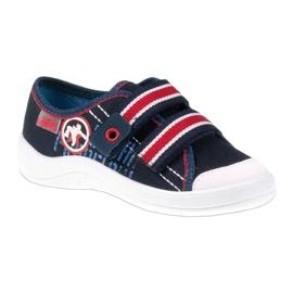 Dječje papuče Befado 672x058 bijela crvena mornarsko plava 1