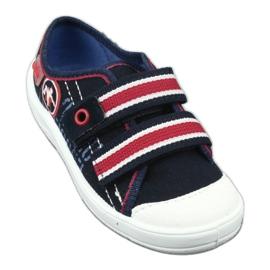 Dječje papuče Befado 672x058 bijela crvena mornarsko plava 2