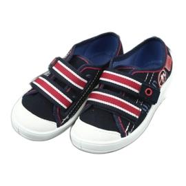 Dječje papuče Befado 672x058 bijela crvena mornarsko plava 4